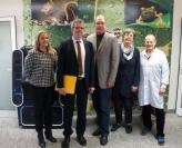 Landratskandidat Christian Engelhardt zu Besuch bei HTV