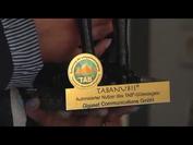 TABANUBIS-Verleihung an die Firma Gigaset in Bocholt